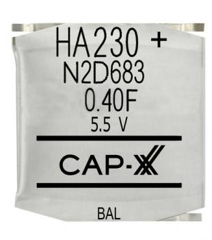 Dual Cell Supercapacitor - HA230F
