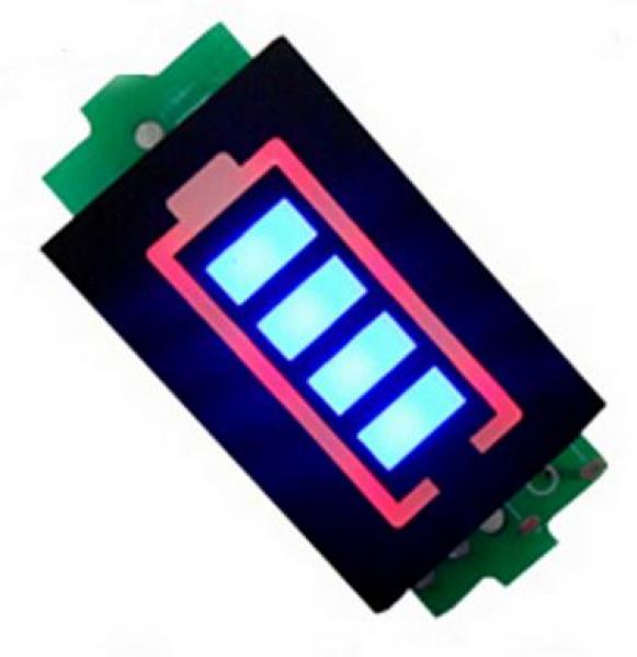 3,7 V Lithium-Battery Capacity Indicator
