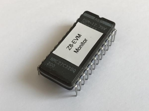 EPROM - Z8 - Monitor for EVM